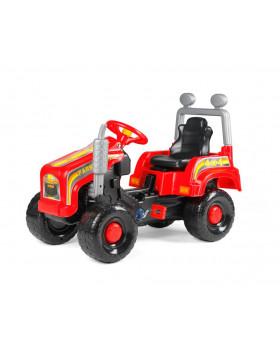 Traktor Mega - červený