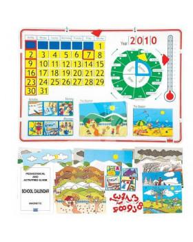 Školský kalendár anglická verzia