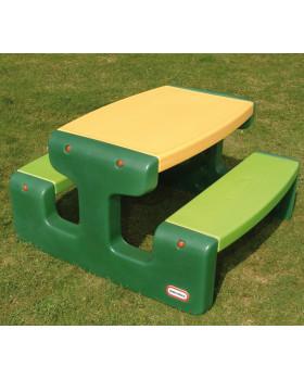 Piknikový stôl zelený