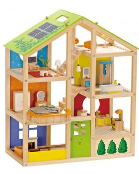 Domeček pro panenky - třípatrový