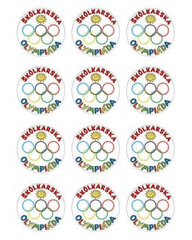 """Medaila """"Škôlkárska olympiáda"""""""