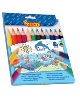 Trojhranné farbičky MAXI