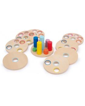 Logická hra s kolíčkami
