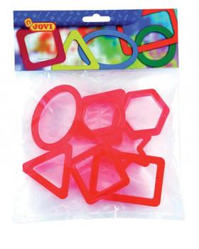 Vykrajovátka na plastelínu-geom.tvary