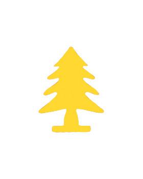 Dierkovač 2,5cm - stromček