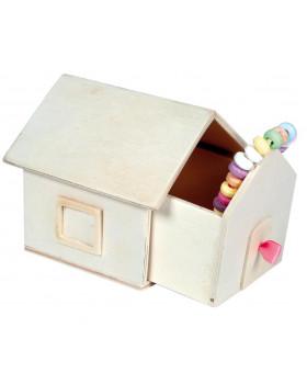 Vyrob si darček - domček na drobnosti