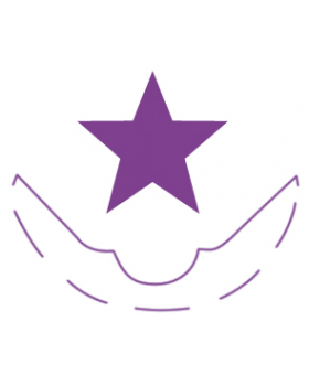 Dierkovač rohov - hviezdička