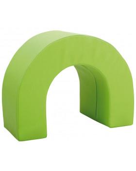 Tunel łuk- zielony