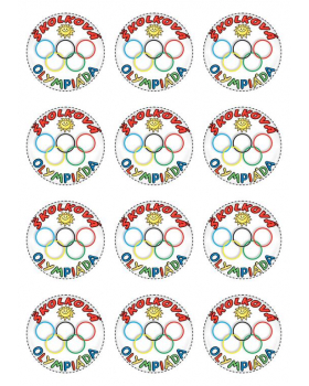 Medaile školková olympiáda