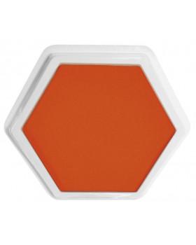 Veľké podušky na pečiatky - oranžová