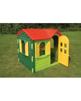 Vidiecky domček - zelený