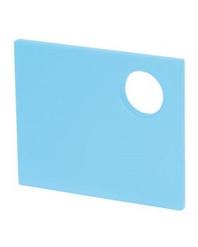 Dvířka na šatnu - Bublinka, malé - světle modré