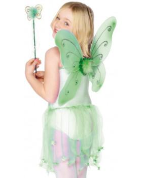 Kostým - Víla, zelená