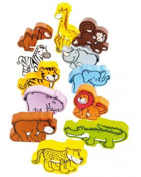 Zvieratká z džungle