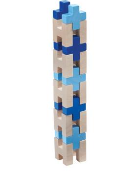 3D stavebnice modrá