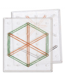 Geometrická tabulka, 6 ks