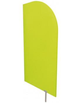 Predeľovacia stena zelená  54 x 101 cm