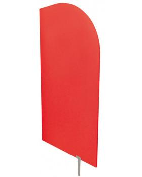 Predeľovacia stena červená  54 x 101 cm