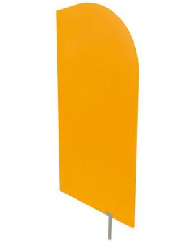 Predeľovacia stena oranžová  54 x 101 cm