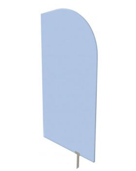 Predeľovacia stena nebesky modrá  54 x 101 cm