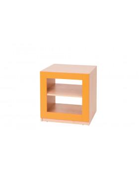 Blok nízký - oranžový