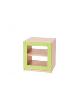 Blok nízky  - zelený