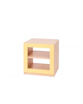 Blok nízký - žlutý