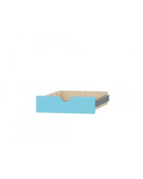 Séria Feria - zásuvka s otvorom, malá,modrá
