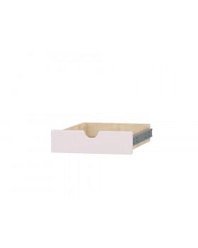 Séria Feria - zásuvka s otvorom, malá,sivá