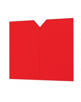 Dvířka k vysoké skříni - červené
