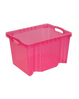 Plastový kontejner - růžový