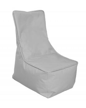 Textilný sedací vak - detský, sivý