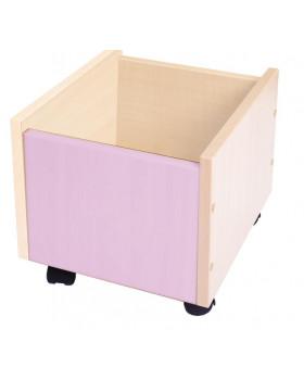 Kontajner na kolieskach - fialový