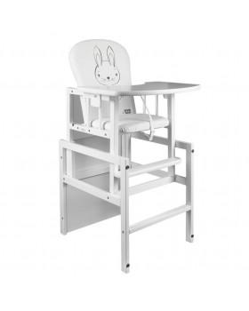 Židle a stolek na krmení