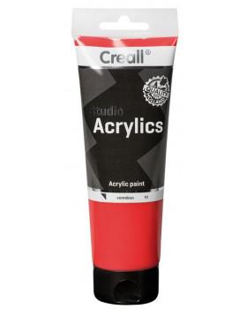 Akrylové barvy, 250 ml - červená