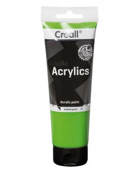 Akrylové barvy, 250 ml - zelená