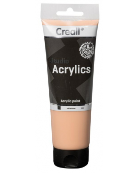 Akrylové barvy, 250 ml - tělová