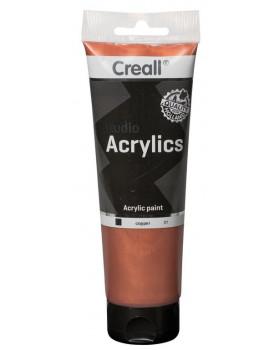 Akrylové barvy metalické - měděná