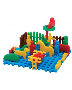 Kostky Wafle - Mini farma