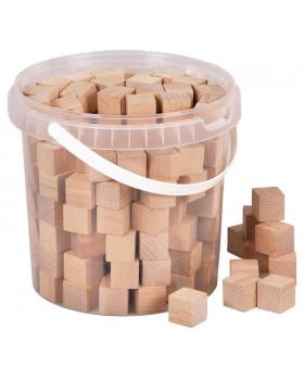 Dřevěné multiúčelové kostky