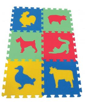 Koberec MAXI - zvířátka 3 - ve čtyřech barvách