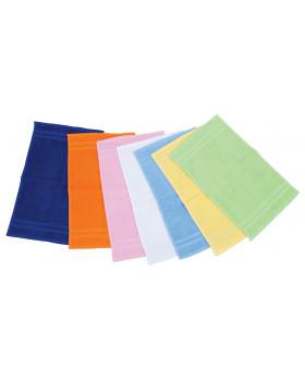 Dětské ručníky žluté sada 3 ks