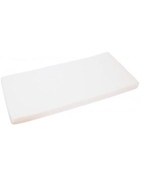 Napínací prostěradlo, jersey, 120 x 60 cm - bílé