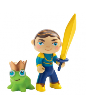 Princ Filip s žabkou