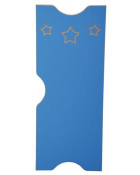 Dvířka k šatnám Ementál Hvězda - modré