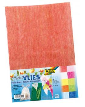 Barevný transparentní dekorační papír