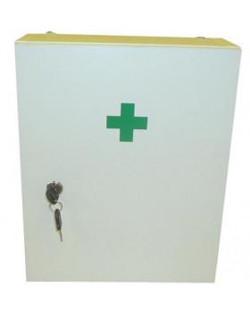 Lekárnička nástenná, biela