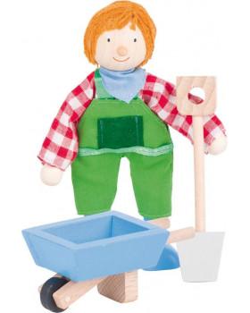 Dřevěné panenky - profese - Farmář