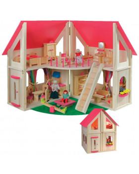 Zavírací domeček pro panenky