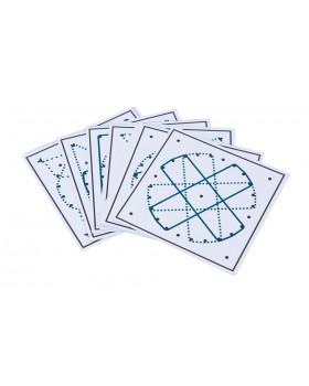Karty ke geometrické tabulce - Sada 4